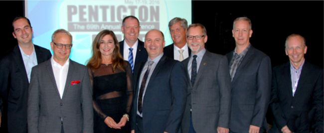 Directors L-R: Devon Tschritter (Newcap Vancouver), Brad Phillips (Corus Vancouver), Diana Davies (Rogers Media), Kevin Gemmell (Fabmar Communications - BCAB President), Rod Schween (Jim Pattison Broadcast Group), Gary Russell (Vista Radio), Rob Bye (Jim Pattison Broadcast Group), Duane Parks (Zoomer Media), Paul Ackerman (Corus). Not Pictured: James Stuart (Bell Media Vancouver, BCAB Past-President)